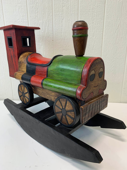 used Wooden Rocking Train