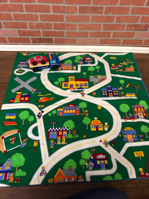 Melissa & Doug Flatbed Tow Truck And Playmat