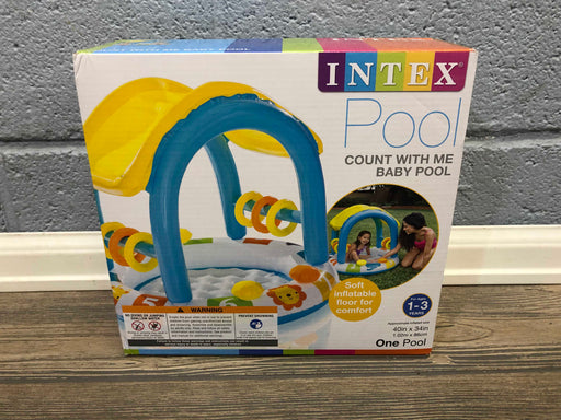 Intex Count With Me Baby Pool