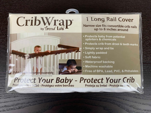 used Trend Lab Fleece CribWrap Rail Covers