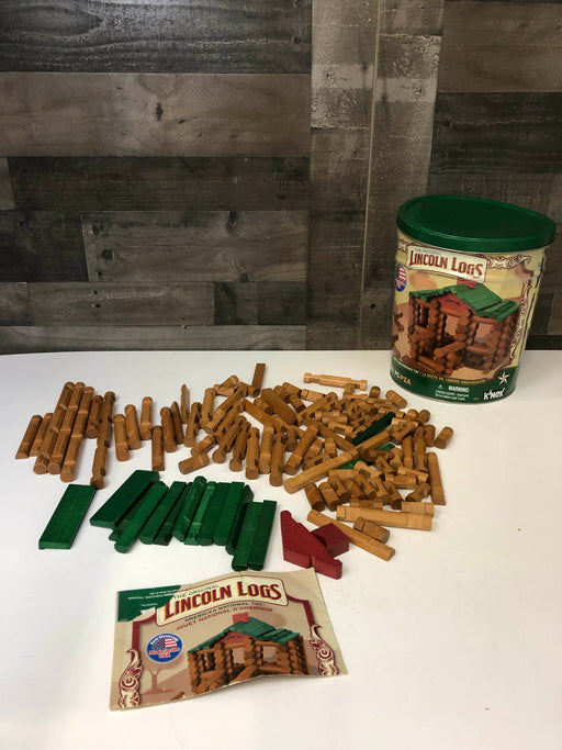 K'Nex Lincoln Logs Fort Timberland