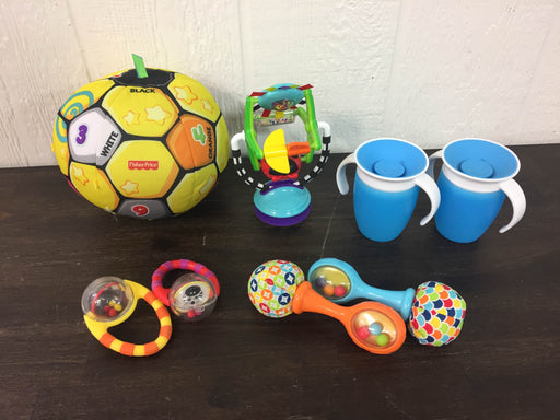 used BUNDLE Toddler Cups And Entertainment