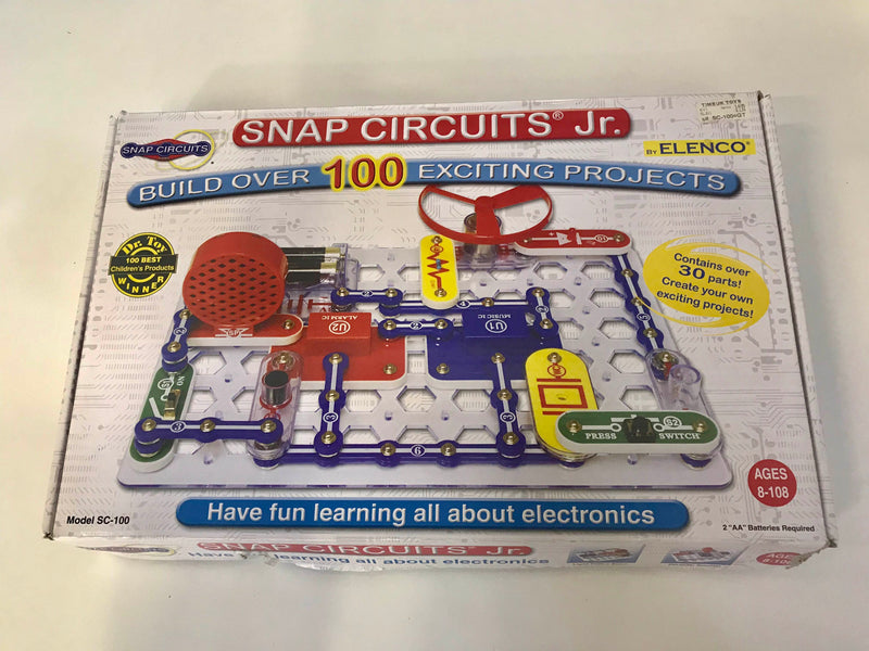 used Elenco Snap Circuits Jr.
