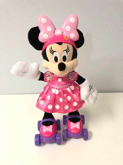 Disney Minnie Mouse Super Roller Skating Plush