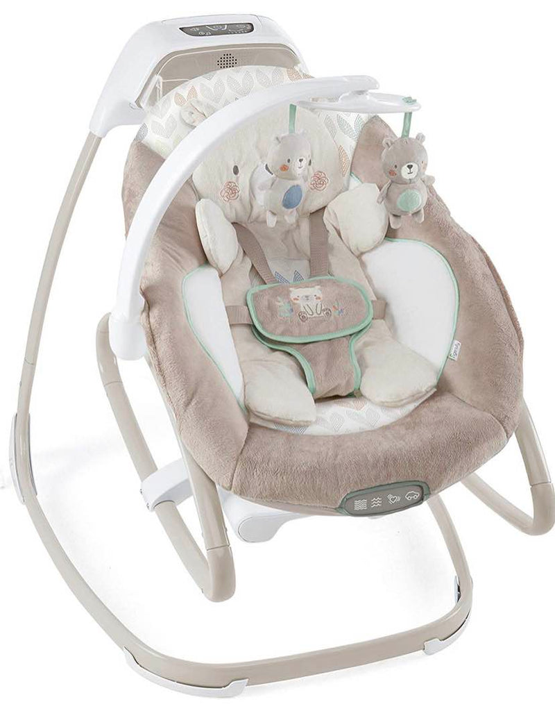 secondhand Ingenuity Smart Size Gliding Swing And Rocker