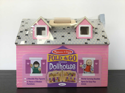 used Melissa & Doug Fold & Go Dollhouse