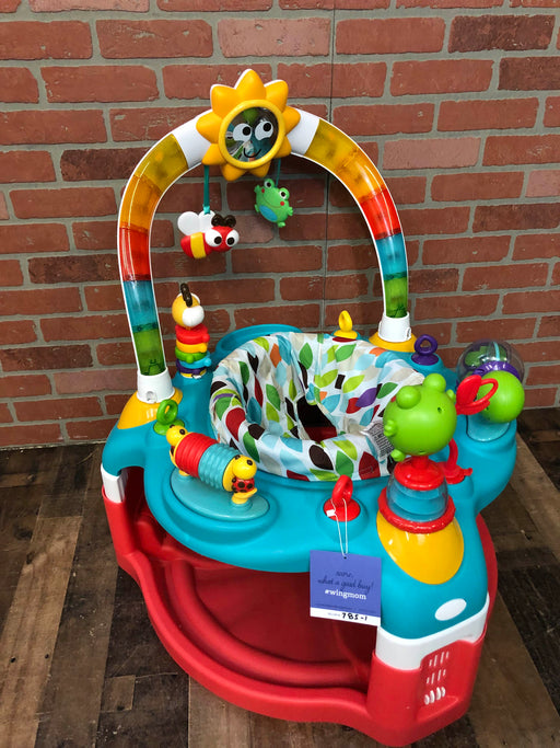 Bright Starts 2-in-1 Silly Sunburst Activity Gym And Saucer