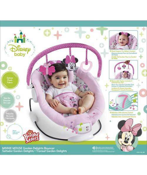 Disney Baby Minnie Mouse Garden Delights Bouncer