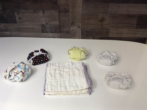 Thirsties Cloth Diaper Set With Inserts & Prefolds