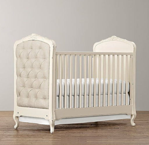 Restoration Hardware Colette Tufted Crib