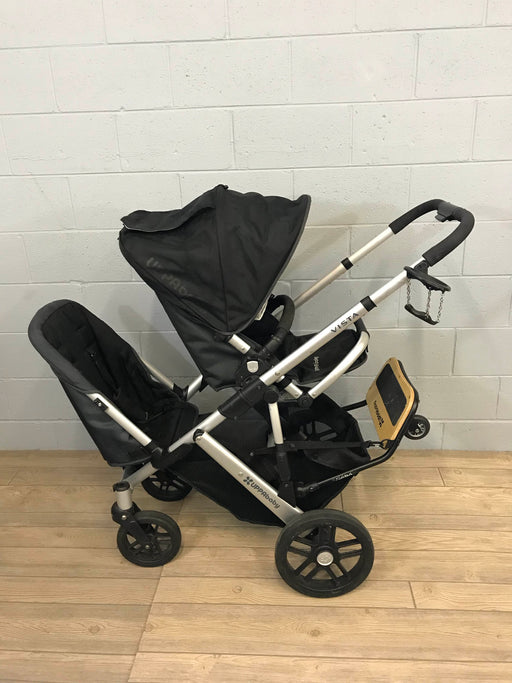 UPPAbaby Vista Stroller With RumbleSeat And PiggyBack Board