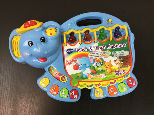 used VTech Touch And Teach Elephant