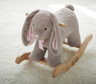 Pottery Barn Nursery Bunny Plush Rocker