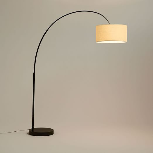 West elm overarching shade floor lamp good buy gear west elm overarching shade floor lamp aloadofball Choice Image