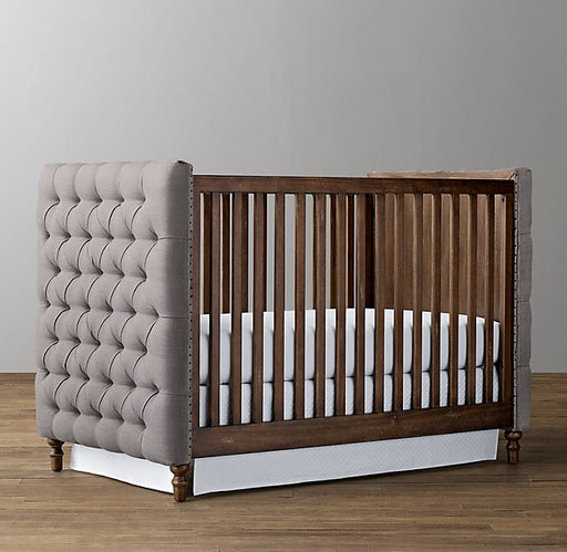 Restoration Hardware Chesterfield Tufted Crib