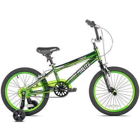Avigo 18 Inch Boys Incognito BMX Bike With Training Wheels