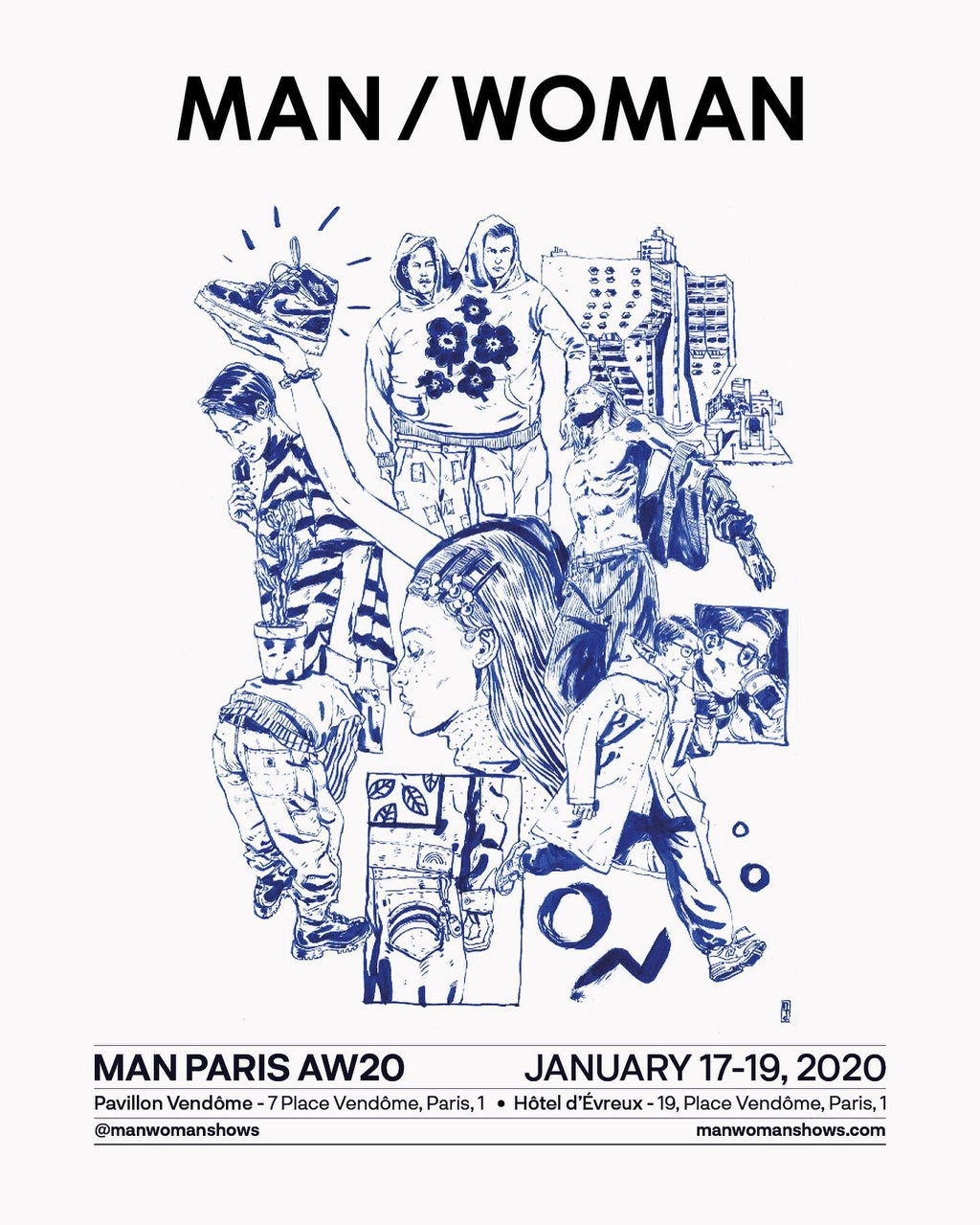 Business Trade Shows - Paris, MAN/WOMAN, Jan 2020