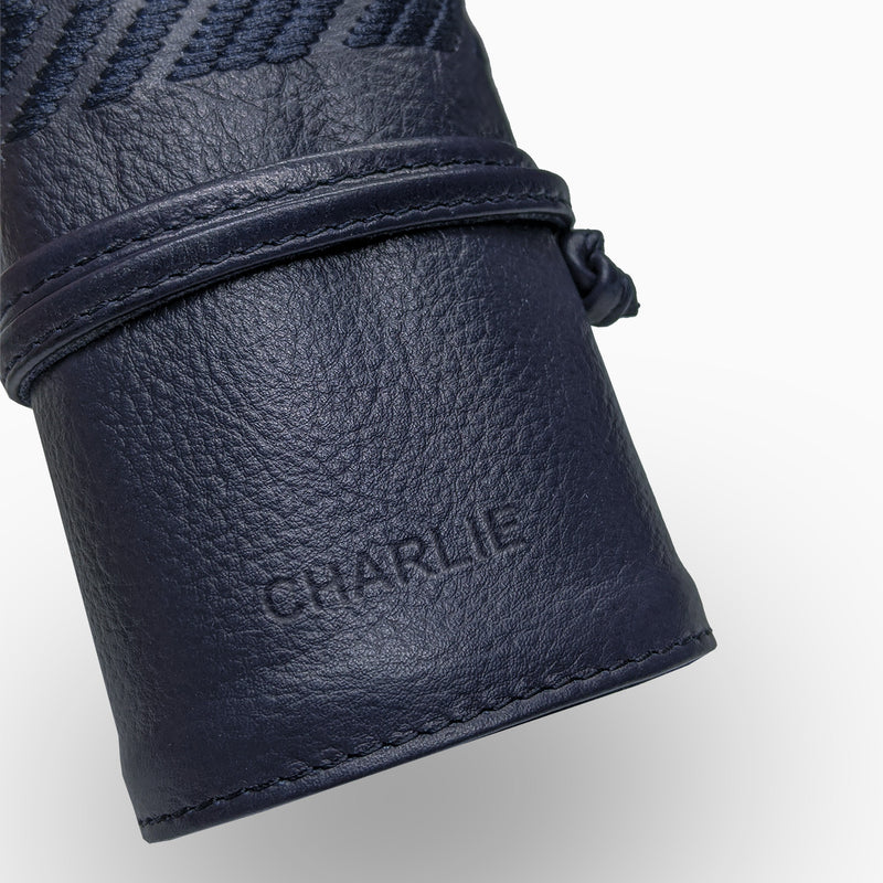 Gaucho Grooming Roll, Navy Blue