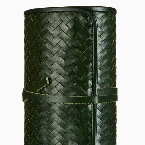Herringbone TechRoll, Green: Limited Edition in Racing Green with Power Bank