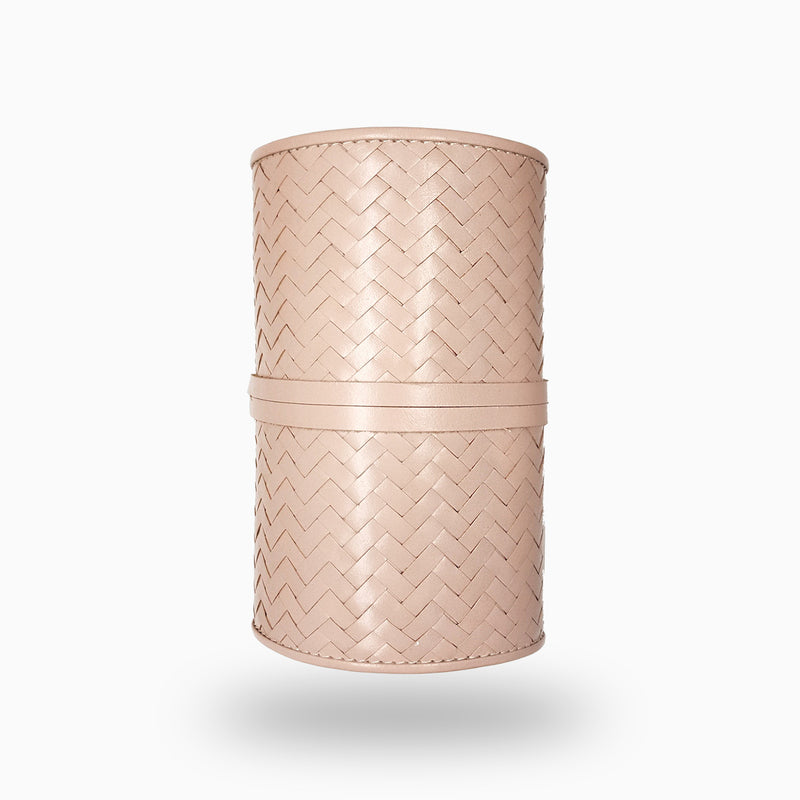 Herringbone TechRoll, Dusty Pink