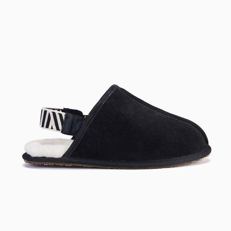 Men's Slippers Sling Back, Black