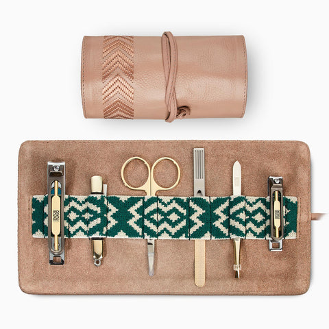 Gaucho Grooming Roll, Natural: Manicure Set