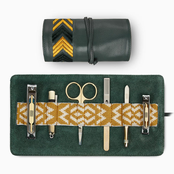 Gaucho Grooming Roll, Racing Green