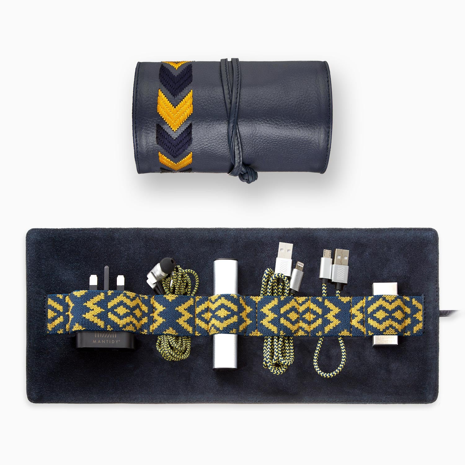 Gaucho Tech Roll Set - Navy Blue