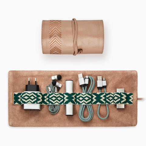 Gaucho Tech Roll Set - Nude