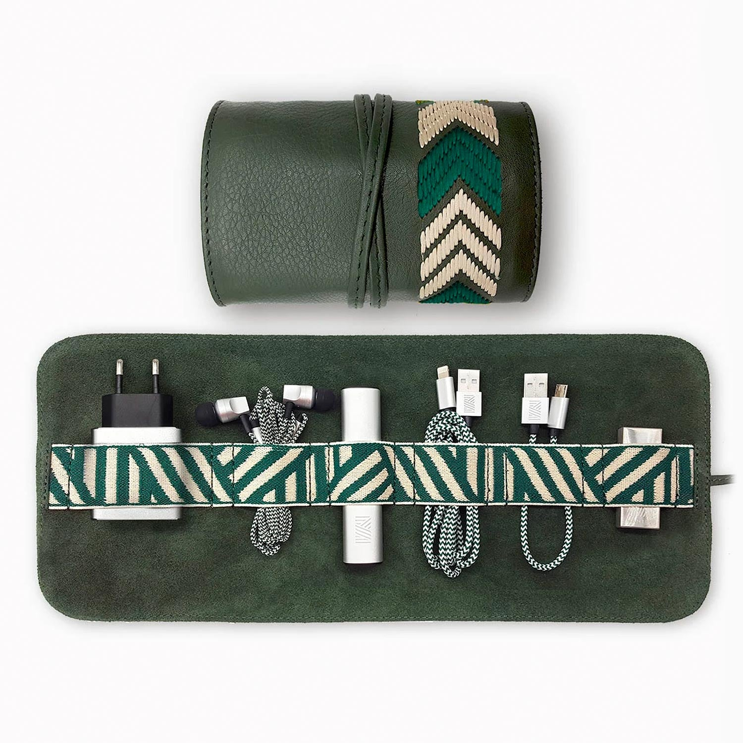Gaucho Tech Roll Set - Racing Green