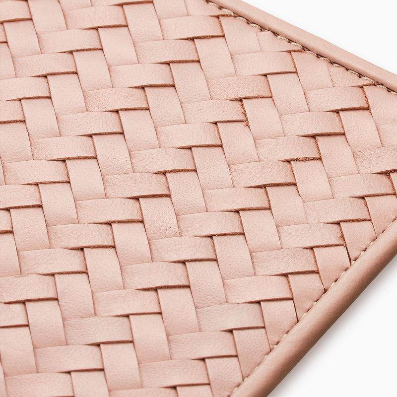 Herringbone Grooming Roll, Dusty Pink
