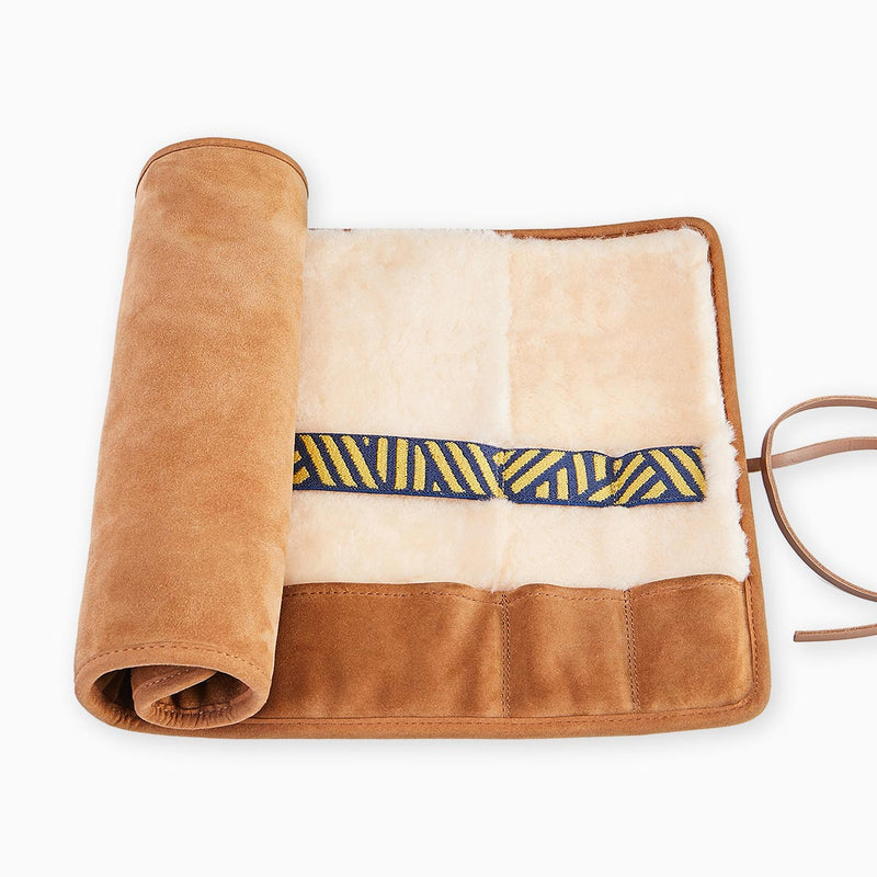 Hygge Home Roll Organiser, Tan