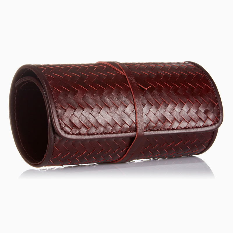 Herringbone TechRoll, Bordeaux Red