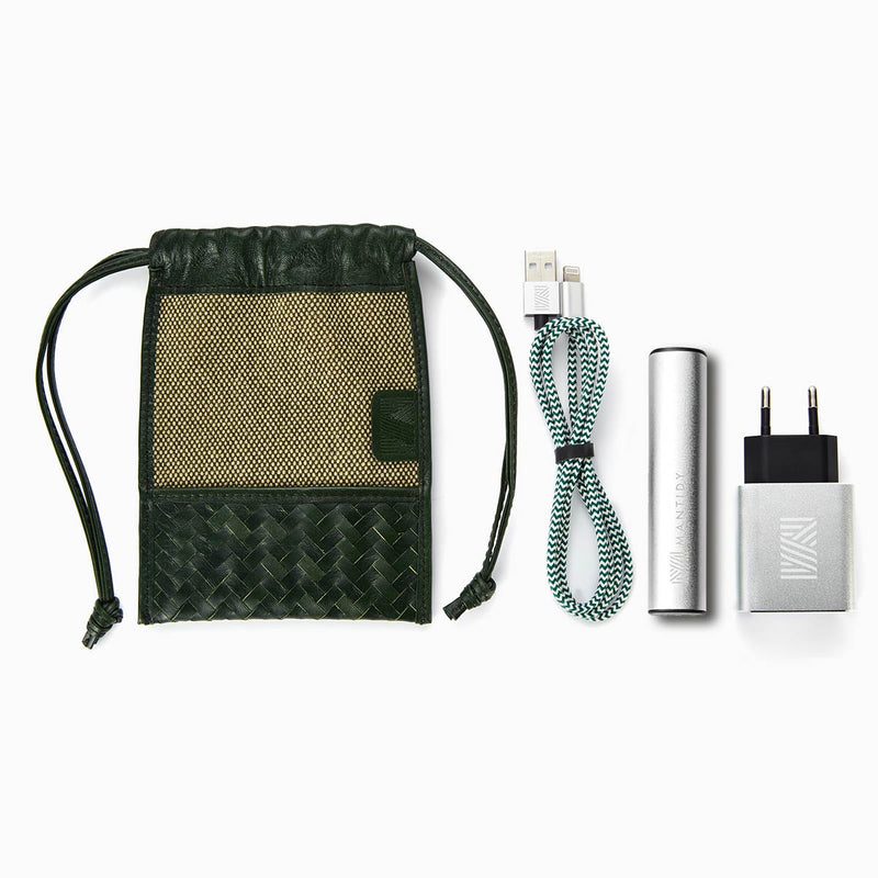 Herringbone TechPack, Racing Green
