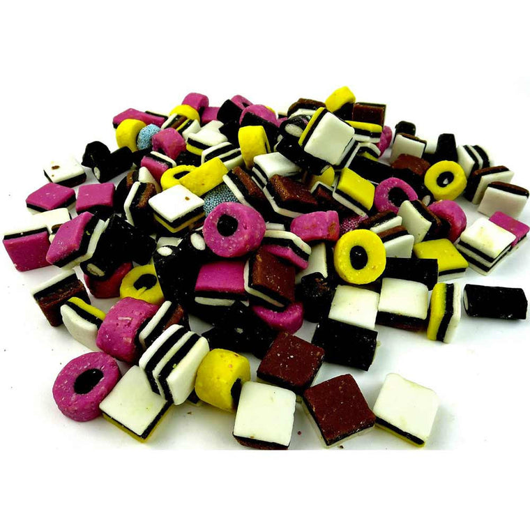 Gustaf's English Licorice Allsorts 2.5 LB