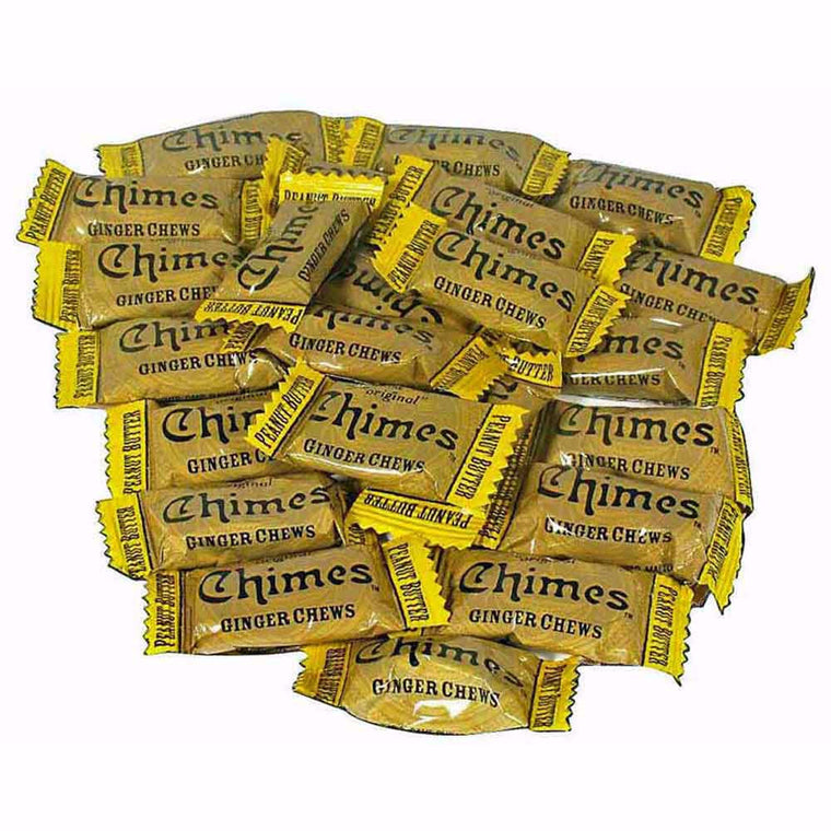 Chimes Peanut Butter Ginger Chews 1lb
