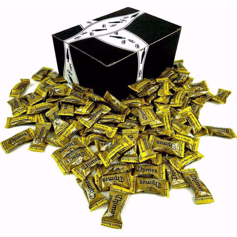 Chimes Peanut Butter Ginger Chews 1lb Gift Box