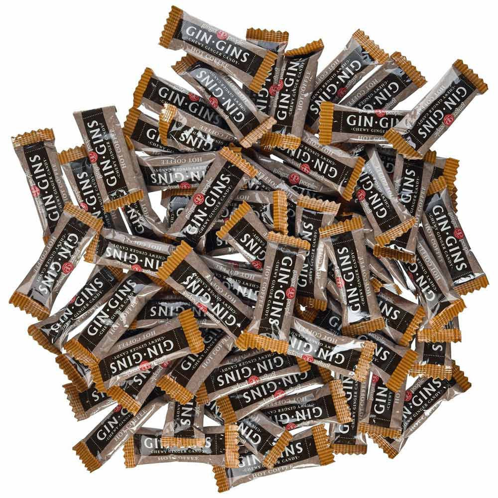 Ginger People Hot Coffee Ginger Chews  2 lb