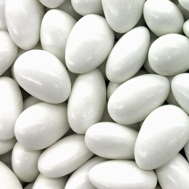 White Jordan Almonds, 2 lb Bag