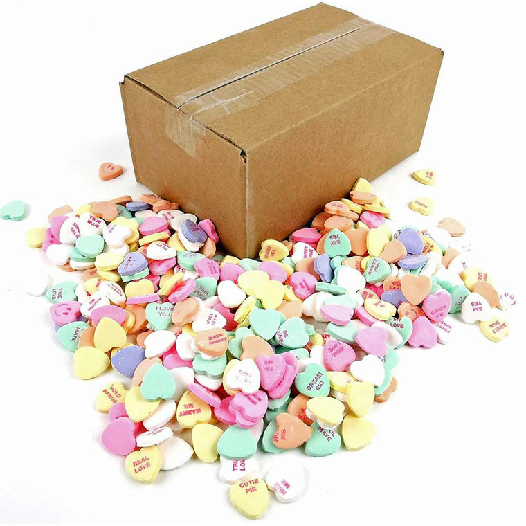 Necco Large Classic Sweethearts 3lb