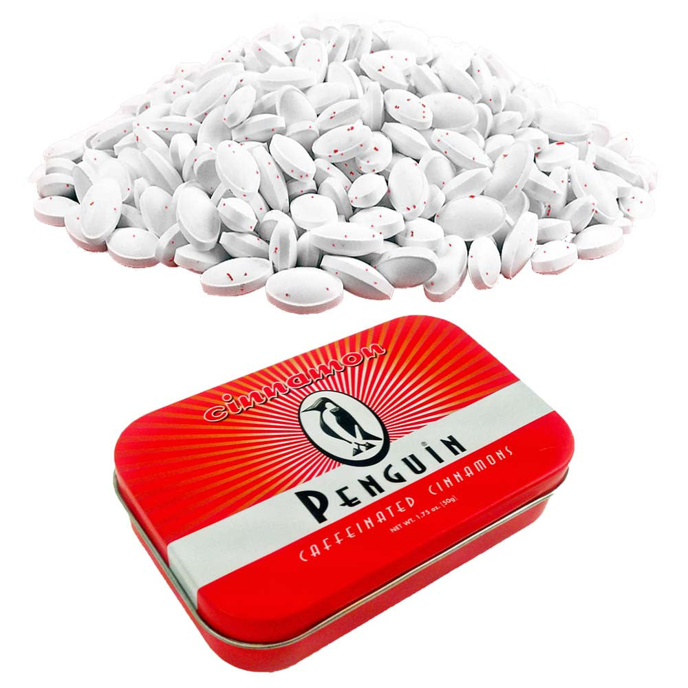 Penguin Cinnamon Mints & Tin