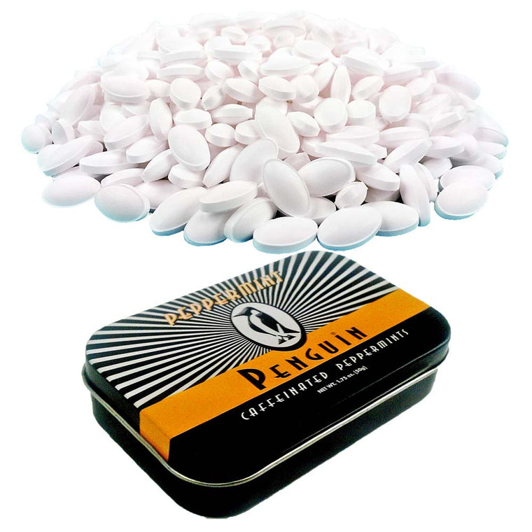 Penguin Peppermints & Tin