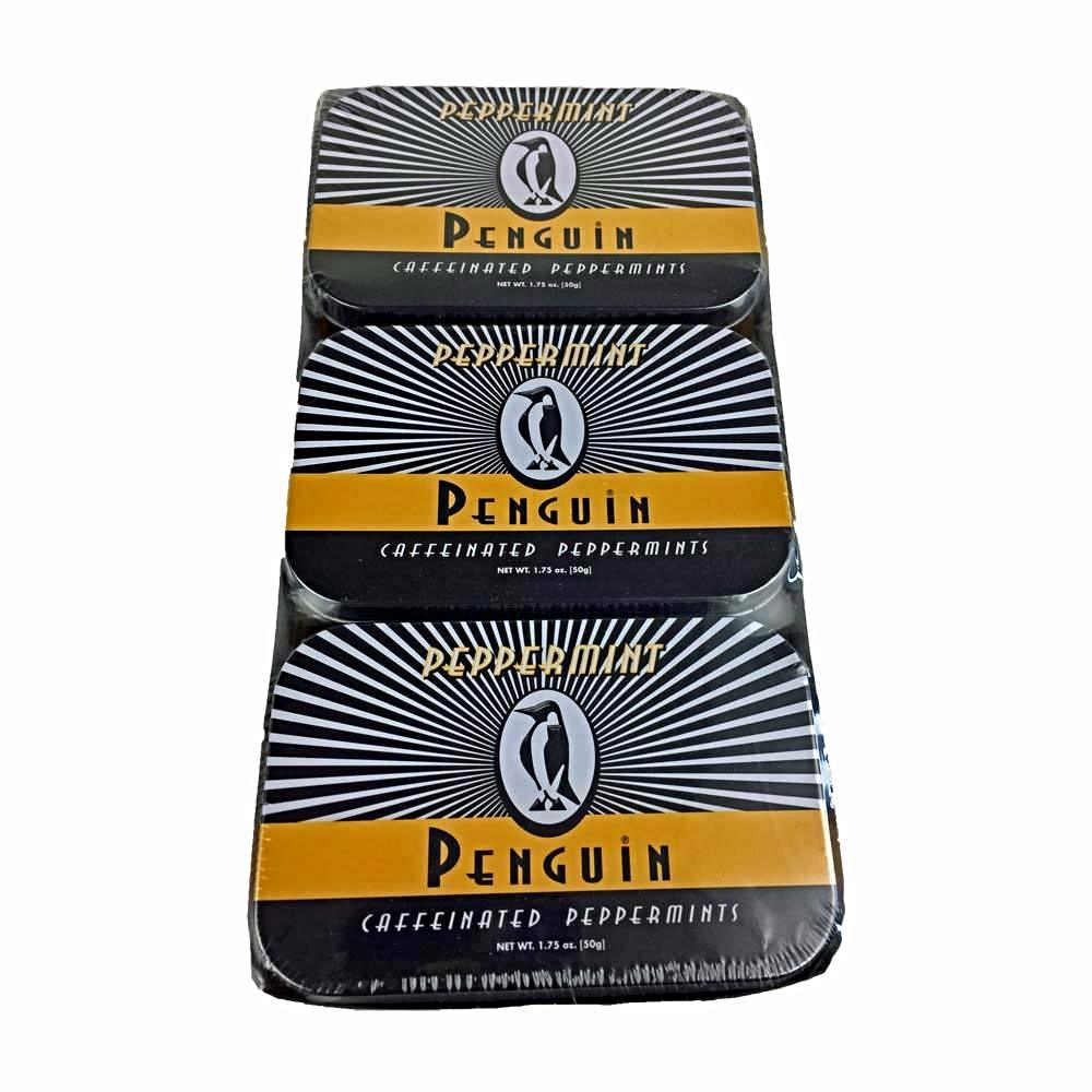 Penguin Caffeinated Peppermints 6 Pack