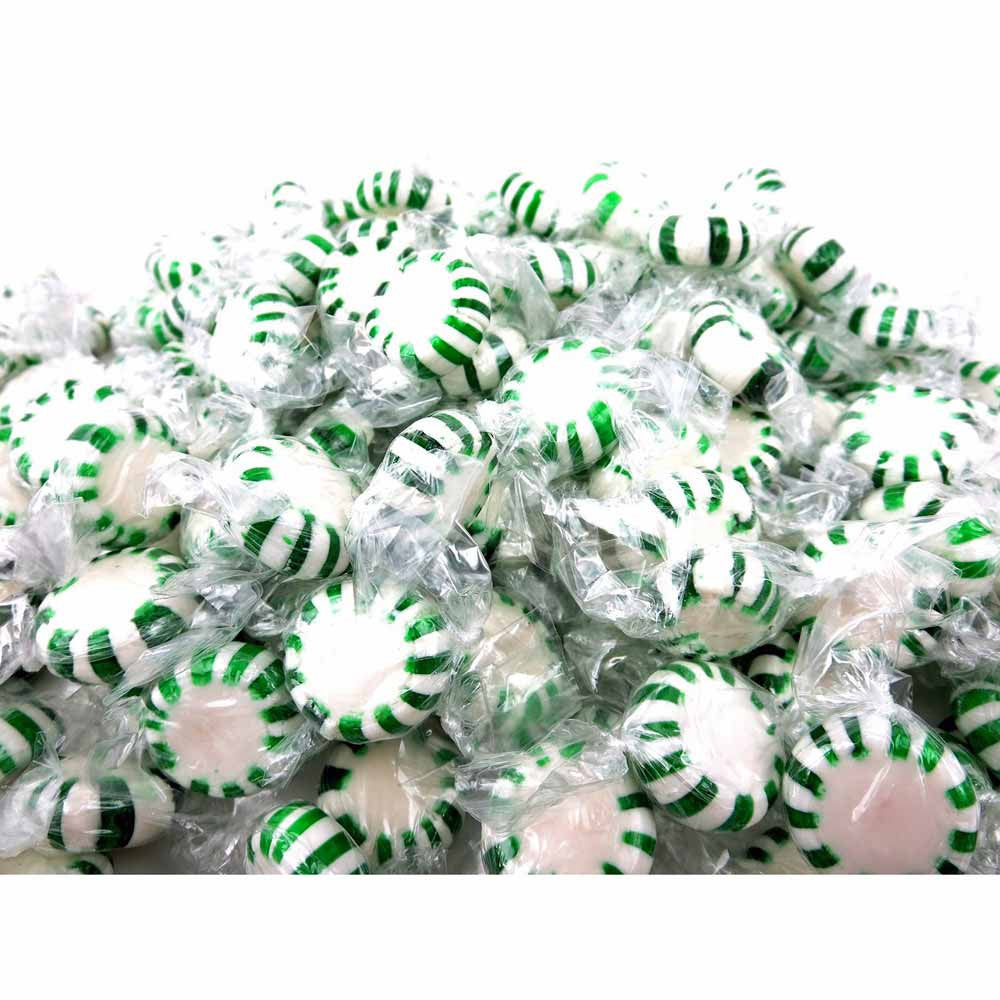 Quality Candy Spearmint Starlights - 2 Lb