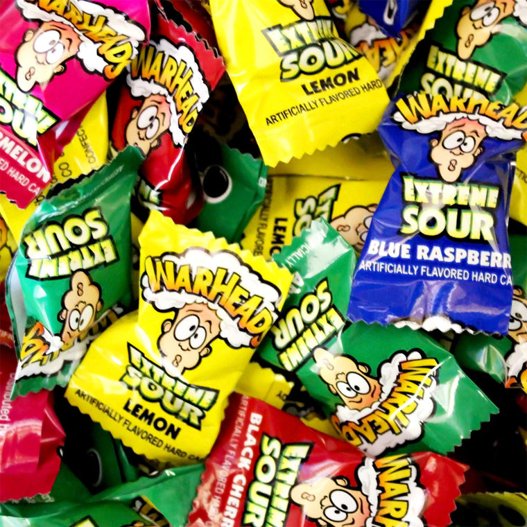 Warhead Extreme Sour Candy Assorted
