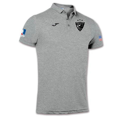 West Coast FootGolf Men's Polo [Grey]