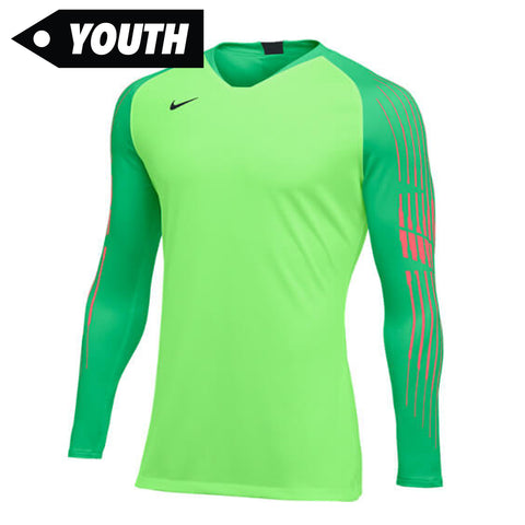Youth Gardien II Goalkeeper Jersey [Green]