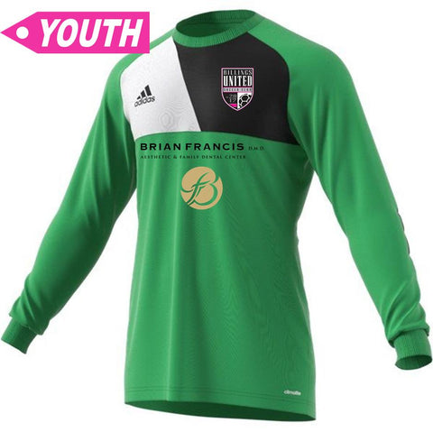 Billings United Timbers Keeper Jersey [Youth]