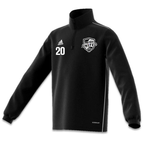 Metro United Warmup Top