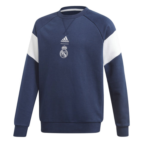 Youth Real Madrid Crew Sweatshirt